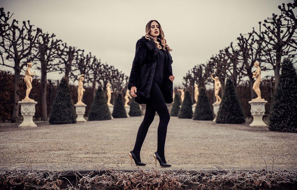 Crystal Rose Designer High Heel – Fotoshooting